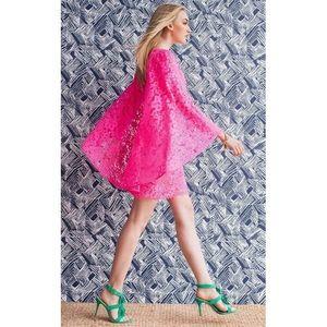 💖 Trina Turk Iliana Pink Lace Dress 💖